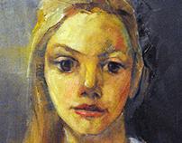 Girl in costume of Zheravna
