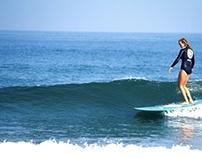 surf wetsuit / RVCA women