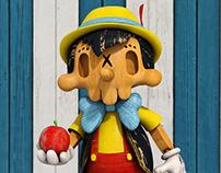 SkullToons - Skull Pinocchio