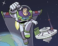 Buzz Lightyear of Star Command fan-art