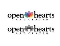 Open Hearts Art Center Identity Package