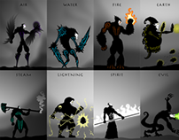 Games characters