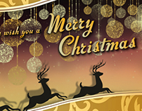 Merry Christmas E-card: Beauty Centre