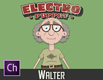Adobe Character Animator Walter Puppet