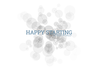 Personal website for new year's greetings.