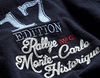 Fashion Graphics - 17ème Rallye Monte-Carlo Historique