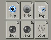 Keyshot icons files