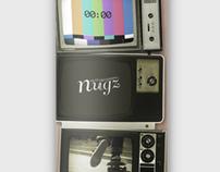 nugz / skateboard / TV