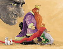 "Illustrations | The Princess and the Dwarf of ""NO"""