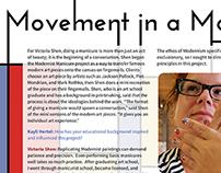 Movement in a Manicure