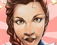 Self Portrait: ROSE-TINTED SELFIE by Emilie Boisvert
