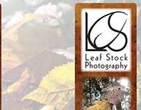 Leaf Stock Photography Branding