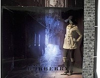 BURBERRY WINDOW DISPLAY