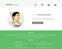 My Personal Website Design For Me