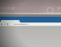ARY NEWS WEB PROMO