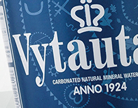 "Posters for ""Vytautas"" mineral water"