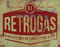 RetroGas Vintage Logos