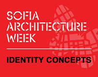 Sofia Architecture Week Identity 2013