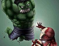 Hulk VS Ironman