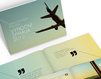 Air Traffic Control annual report concept