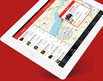 Around Me – Location Finder iPad App Free PSD