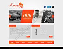 Web designing for khenzin