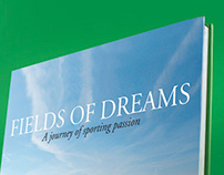 Field of Dreams by Lord James Percy - Book design