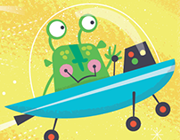 Book: A to Z Aliens