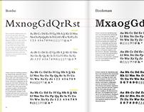 FIND YOUR TYPE, a typographic handbook