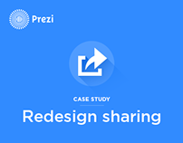 Change how users can share prezis