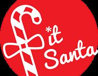 Fit Santa Identity Design