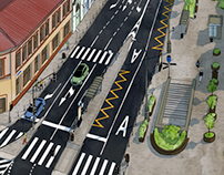 Moscow streets for City4people.ru