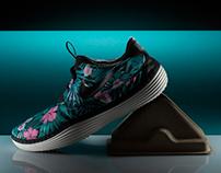 Nike - Solarsoft Mocassin Floral