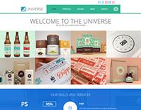 Universe - Multi-Purpose WordPress Theme