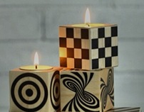 Illusions Candle Holder