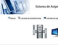 SAEI Sistema de Administración de Equipos Informaticos