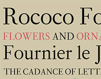 Revival Typeface Design: Fournier Display