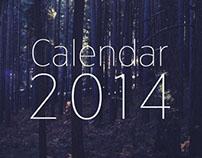 Calendar 2014 (Deconstructed)