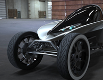 Arrow Electric Car Concept for Charles Bombardier