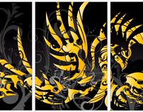 3 Panel Phoenix