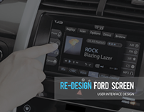 Ford Automobile Interface Design