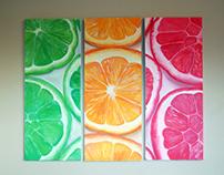 Citrus Triptych