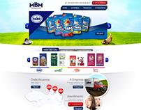 Site Distribuidora MBM