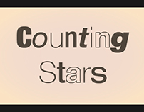 OneRepublic - Counting Stars Kinetic Typography