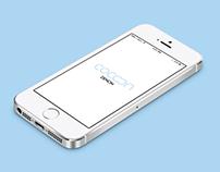 iOS7 Denon Cocoon app - Redesign