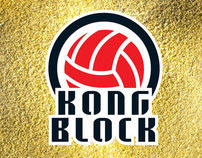 KongBlock Logo and T-shirt - VolleyBall Warehouse