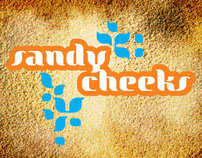 Sandy Cheeks Logo and T-shirt - VolleyBall Warehouse