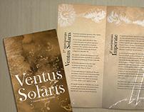 """Identidade Visual Sinfonia """"Ventus Solaris"""", 2013"""