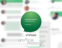 "WhatsApp (Redesign) App ""Concept"""