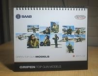 Gripen Top Gun Calendar 2012-2013